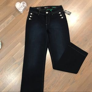 ❤️NWT Style&Co sailor style button stretch jean 8P